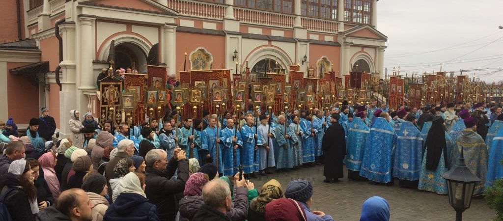 Празднование Казанской иконы Божией Матери